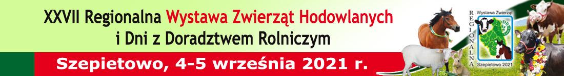 Banner Regionalna Wystawa Zwierząt Hodowlanych Dni z Doradztwem 2021