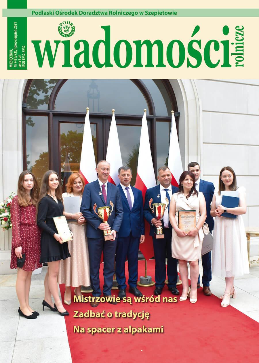 Wiadomości Rolnicze 07/08.2021r.