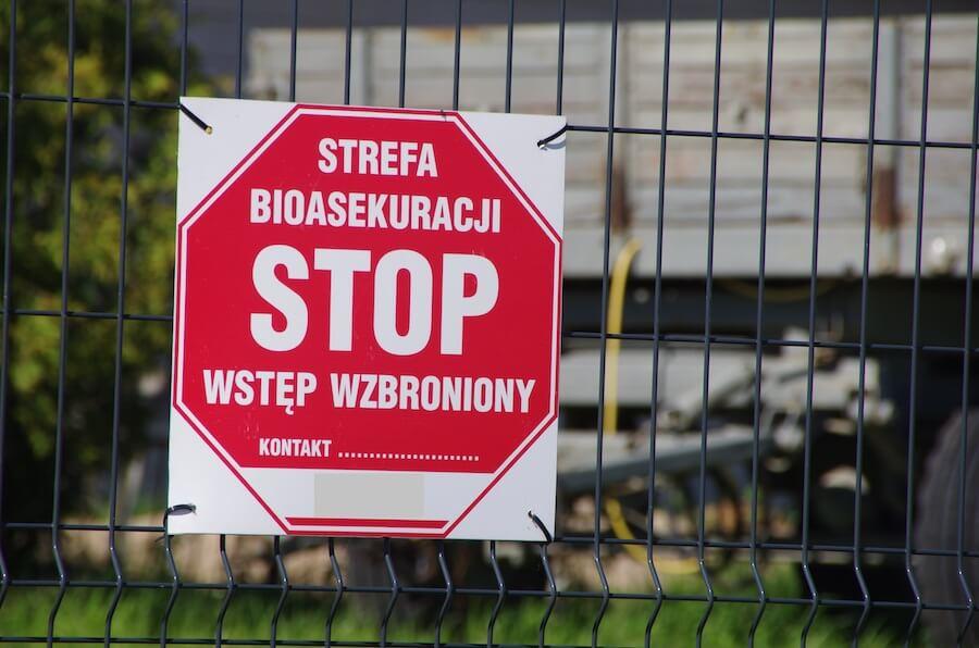 Pomoc dla producentów trzody chlewnej w związku z tegorocznymi zaostrzeniami wymogów bioasekuracji